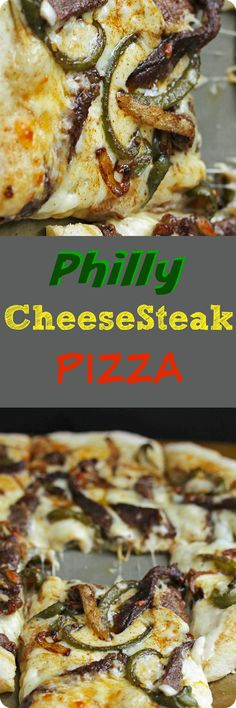 Philly Cheesesteak Pizza | Red Star Yeast