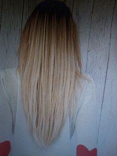 V-cut hair > want my hair like this