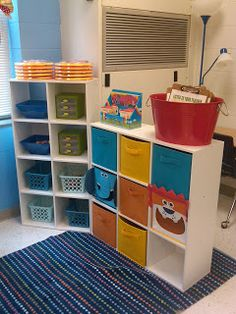 2nd Grade Shenanigans: Classroom  I love how simple, but need this little area is