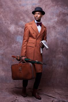 I can't even think this guy is so cute!!!  Black Fashion Stars, McMeka Couture