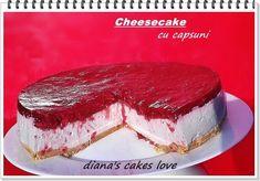 diana's cakes love: Cheesecake cu capsuni