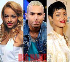 Chris Brown Admits to Love Triangle - Big Name News