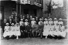 Gympie Hospital Nurses with Sir Matthew Nathan 1925