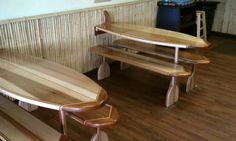 Surf bar tops and bar on pinterest for Surfboard bar top