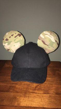 "DIY ""Tactical Mickey"" Disney ears for men"