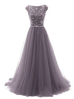 Marryou Women's Beaded Scoop Long Tulle Formal Prom Gown ... https://www.amazon.com/dp/B01H5JTPIG/ref=cm_sw_r_pi_dp_4KOzxbFJ3GG4D