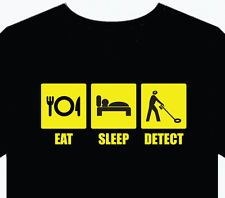 62ea3caa Funny Metal Detecting | Mens T-Shirt Detect funny gift top fun metal  detector beach