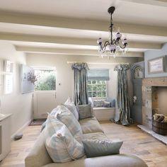 Living Room | Lavender Cottage Whitby