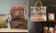 Buy A Spot of Style by Step by Step Handcrafted cotton bags with kalamkari, kantha embroidery and kilim weave Online at Jaypore.com