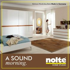 Wood Bedroom, Bedroom Wardrobe, Solid Oak, Sliding Doors, Clear Glass,  Wardrobes, Bedrooms, Wooden Bedroom, A Frame Bedroom. Nolte India