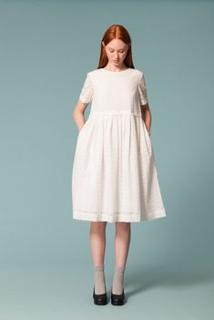 Embroidery Anglaise Easy Dress