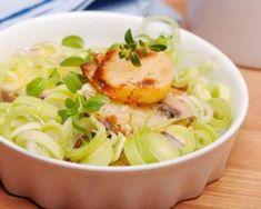 Diet Recipes, Healthy Recipes, Tasty, Yummy Food, Saint Jacques, Potato Salad, Seafood, Cabbage, Menu