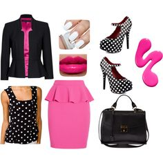 Giving you the business by kat-alterego on Polyvore