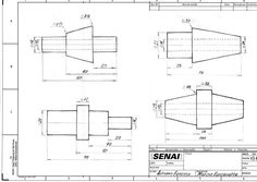 Desenho Técnico - A mão livre - Estudos...