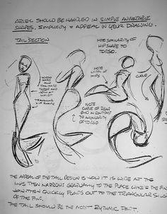 Discover a gallery of 40 Original Concept Art by Disney Artist Glen Keane. Glen Keane is an American animator, author and illustrator. Keane is best known Mermaid Sketch, Mermaid Drawings, Mermaid Art, Mermaid Cartoon, How To Draw Mermaid, Mermaid Paintings, Tattoo Mermaid, Vintage Mermaid, Mermaid Tails