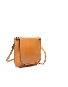 Zara leather satchel