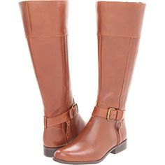 anne klein cailan wide calf boot.  16 in circumference so that i can fit my big ol legs in along with jeans ;)