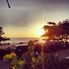 I spent six wonderful months of my life here: Legian Beach, Bali.