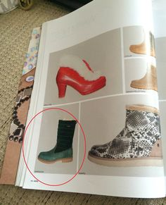 ARS Sutoria, Italian professional footwear publication, issue #402, April 2015 Darkwood shoes, women model from the Fall/Winter 2015/16 collection #fashion #footwear #shoe #style #leather #boots #green #comfort #shoeoftheday #styleoftheday #winter #fall #collection
