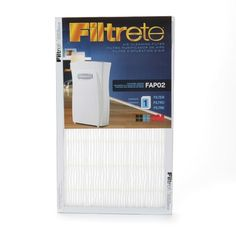 I'm learning all about Filtrete Air Cleaning Filter at @Influenster!