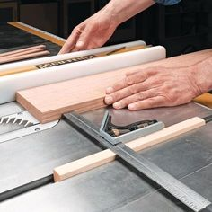 Quick Tip for Thin Strips | Woodsmith Tips -why didn't I think of this? #WoodworkingTips