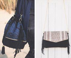 Sac Suzy et Daphnée de la marque Maradji - Comptoir des textiles pour un look bohème chic !