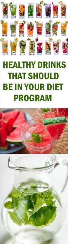 HEALTHY DRINKS THAT SHOULD BE IN YOUR DIET PROGRAM #healthydrinks #dietpremiumburger