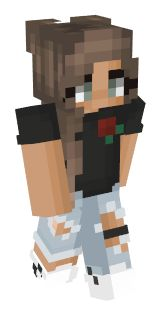 Minecraft Skins Unicorn, Minecraft Skins Rainbow, Minecraft Skins Female, Minecraft Skins Aesthetic, Cute Minecraft Houses, Minecraft Pe, Minecraft Designs, Minecraft Stuff, Minecraft Interior Design