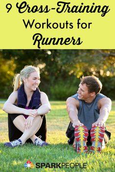 Bežte silnejšie, rýchlejšie - a bez zranení - zaradením správnych cvičení z oblasti cross-tréningu do vášho tréningového plánu  Via @ SparkPeople # cvičenie # cvičenie # beh # zdravie via @SparkPeople #exercise #workout #running #health