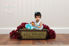 Fantasy themed photography for children. Great idea for children's fun photo shoot and for capturing first birthday! Photography by Remy Ashe at Tulle n Feathers - www.tullenfeathers.com