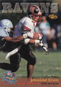 1996 Classic NFL Rookies #95 Jermaine Lewis Front