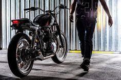 Triumph Street Tracker by Svako Garage #motorcycles #streettracker #motos | caferacerpasion.com