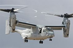 V-22 Osprey - amazing.  is it a plane?  helicopter?  both!
