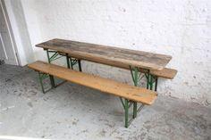 Multifunctionele Indoor Picknicktafel : Tablebench seater weltevree tafel bank en picknicktafel in