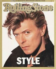 1987 Rolling Stone Covers Pictures -  David Bowie | Rolling Stone