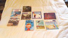 Lot of 9 books Thomas Train Rugrats Clifford Caps Kids Unisex Harry Haunted Hous