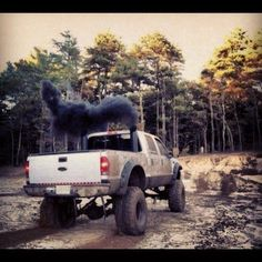 Oh ya know, just rolling some coal!!!!!!!!!!!