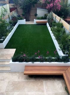 modern garden design ideas fulham chelsea battersea clapham dulwich london - Garden With Style Diy Garden, Garden Care, Garden Projects, Garden Boxes, Tiered Garden, Garden Kids, Dream Garden, Small Courtyard Gardens, Outdoor Gardens