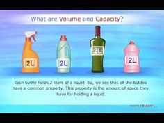 Volume and Capacity Introduction | Turtlediary - YouTube