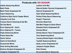 """Many of Wildtree's seasonings are """"freebies"""" if you're following a no-sugar or 21 Day Fix diet.  There are also many oils available.  Here is a list!  No Sugar, 21 Day Fix, 21 Day Fix Free, Seasonings, Oils, Wildtree #tammytastes Whole30"""