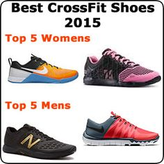 09f09149ae3 New updated top CrossFit shoes for 2015 Men and womens lists all with  videos