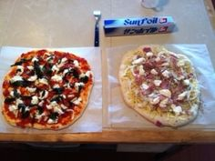 home-made pizza!!