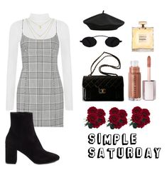 """""""simple satt"""" by demeryjaguar on Polyvore featuring WearAll, Alexander Wang, Chanel, M&Co and Balenciaga"""