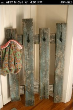 Great idea if you don't have a place to hang Christmas stockings!