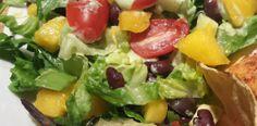 Black Bean and Mango Salad with Avocado Ranch
