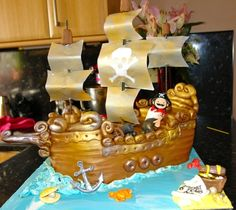 Pirate Ship, boat, pirates, sailing boat