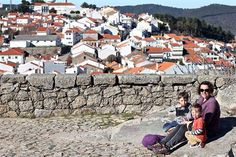 There's a post on the blog all about our nearest town of Penamacor a little about it's history and places to visit #familytravel #visitportugal