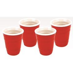 Red Cup Shot Glass Set. Some red cups are for beer, others are for shots!