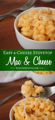 It's National Mac and Cheese Day! Celebrate with this classic, creamy, cheesy, garlic-filled pasta dish that every mac and cheese lover will enjoy!