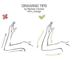 Drawing Tip | Arms | Reference #Drawingtips
